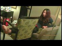 Çinli kız ayak işkence ve hogtied esaret