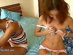 italian chicks Vika and Natasha