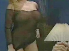 Hot blond titty fucked