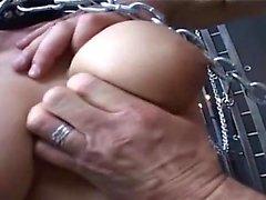 Latex korsetten film med spandex bruden som älskar BDSM