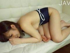 Sexy японской блядь выебанная в группу удар