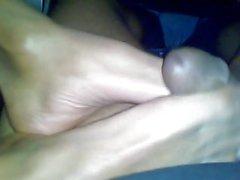 Sexy Footjob