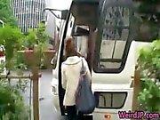 Crazy asian girls have hot bus tour 1 part2