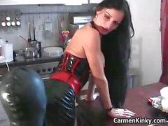 Bigtits Carmen in amazing sexy bdsm