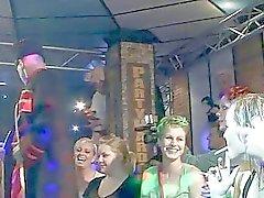 Face bande dancing et de fuites puss