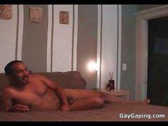 Exotic gay Romero Rivera gets butt fucked