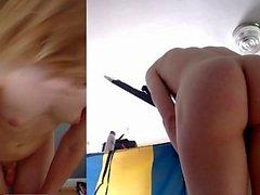 Diana Webcam MILF rakastaa Big Black Dildo Ass From