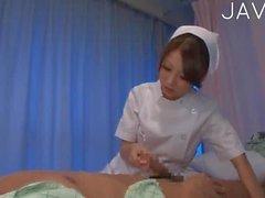 Seksi Hemşire Pleasing Bir Hasta