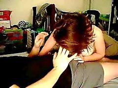 Amateur zelfgemaakte paar is de liefde