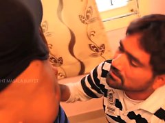 Hot Indian Housewife Spicy Romance With Makeup Men