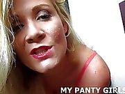 My polka dot panties are so fucking sexy JOI