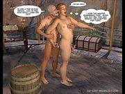 Donanim çocuk 3D Gay Cartoon Hareketli Comics'i Yeni Maceraları