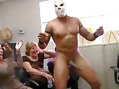 A largo Verga de Office Orgy de Dancingcock