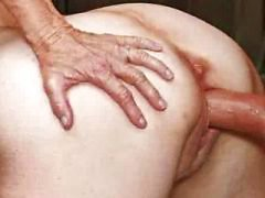 Sex honger granny neukt stud