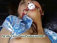 Akari Satsuki yaramaz asyalı kız bağladı ve bir yüz alır olduğunu