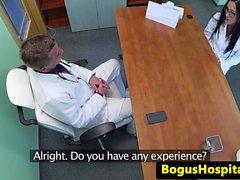 Doktor büro üst eurobabe paund