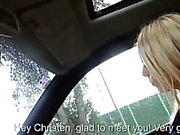 Sexy FA Christen Courtney fucked with pervert guy in public