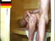 Eine Sauna die Sex mit geilen reife Frauen ( Deutsch )