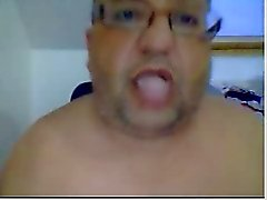 Straight guys feet on webcam #43