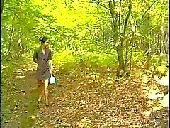 Anale asiatique françaises dans le bois