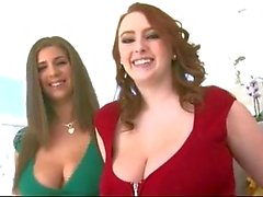 Big Natural Boobs - Redhead Ve Esmer ! ! !