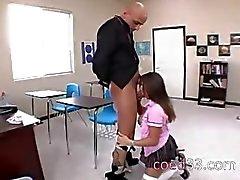 student i nylons störning i klassen