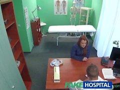 FakeHospital Doktor arkasından hasta sikikleri