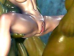 3D Piedra de la princesa