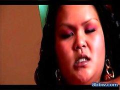 Asian BBW Masturbation