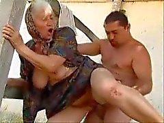 fat granny neuken
