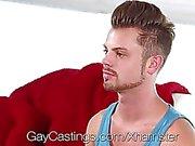 GayCastings - мило женоподобный мужчина хотят стать порно-звезды