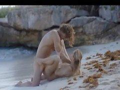 plajda azgın bir çiftin akıllıca Sanatlar seks