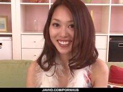 Casting para el porno con el asiático encantador Yabuki