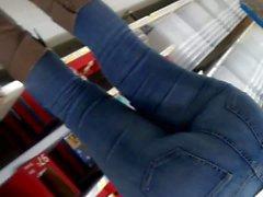 Sıkı kot pantolonunda Phat ganimeti pt2