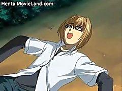 Sexy anime koulutyttö saa munaa Osa 6