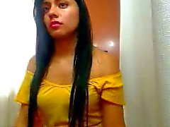 Geile Beautifull Puerto Ricaanse Meisje Achter Cam
