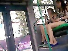 Pies que son excelentes en autobús