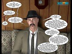 3D de Comic : Cuarto Mundo 1-2