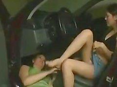 Brazil Footdom - Schmutzige Füße Get Worshiped