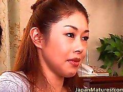 Misa Tachibana todellinen aasialainen kypsä