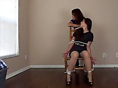 Pantyhose Chair Tickle