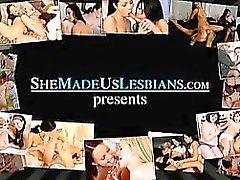 Studentesse di baciano ben presto trasformati in sesso hard lesbiche