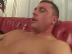 Guy fucks drills TS chick