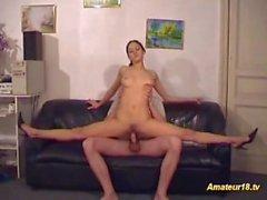 extrema sexo contorção flexível