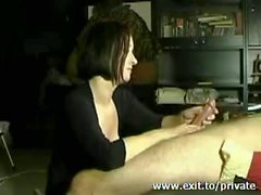 Handjob Compilation with my wife Carice