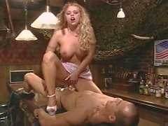 Busty Blonde Get Her Pussy Pounded In Bar