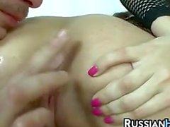 Fishnet çamaşır Rus Sürtük