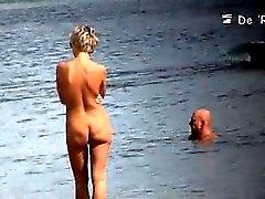 Playa nudista que es personal