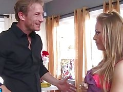 Blonde babe Nicole Aniston fucks her friend's brother - Naughty America
