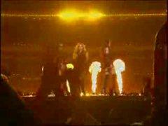 de Beyonce organe sexy habitent en du Superbowl